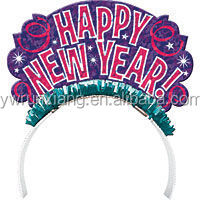 Gold and Silver New Year Tiara