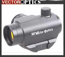 Vector Optics Maverick Compact 1x22 Tactical Red Dot Scope Sight with 20mm Quick Release Picatinny Mount QD Base T-1 Style