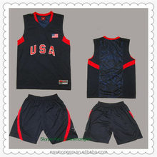 Fashionable hot selling high quality customized basketball wear