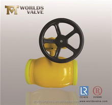 SW /BW end connection Underground (Extended Stem) Fully Welded Ball Valve