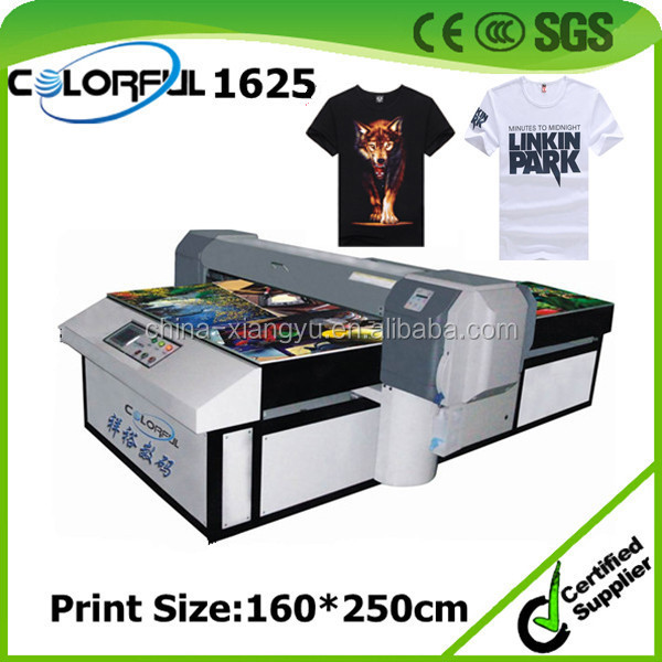 A0 Textile Machine Digital Direct To Garment 3d T Shirt