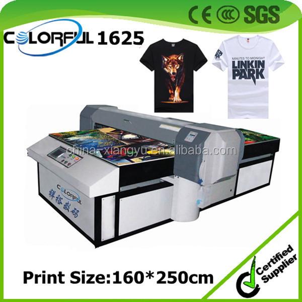 Digital textile printer high speed t shirt printing for Inkjet t shirt printing