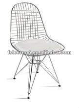 PVC Cushion Chrome Chair TF-PC007-F1