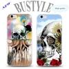 Wholesale the Best Selling Horror Skull Custom Design Cell Phone Cover Case For Apple iPhone 5 5s 6 plus