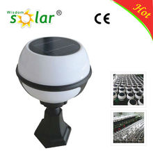 China supplier Wall mounted outdoor solar lights. solar outdoor lighting with 3W solar power panel (JR-2012)