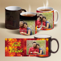Factory custom hot products indian wedding gifts for guests color change mugs