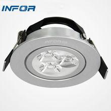 Ultra slim SMD recessed led downlight housing adjustable led downlight