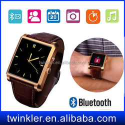 waterproof smart watch DM08 bluetooth 4.0 with Android iOS support sleep monitor anti-lost smart watch calling smart watch