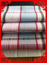 2014 fashion latest new Italy design pattern big check dobby fabrics for men shirt