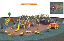 Amusement park playground kids exercise equipments