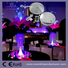 Factory direct deal ! 6 inch RGB under vase base centerpiece wedding decor