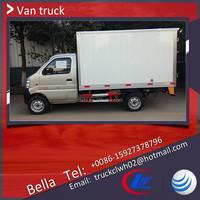 China Brand New Mini Cargo Van, Truck Cargo Box Material Optional