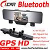 Factory Offer Dual Cam HD 1080p Bluetooth GPS bluetooth Drive Recorder Dvr