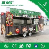 2015 HOT SALES BEST QUALITY european standard food cart australia standard food cart show room food cart