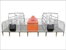 farm supply equipment sow use birthing crate pig farrowing pen with whole accessories
