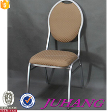 Comfortable Wedding Stackable Aluminum Banquet Chair