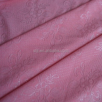 Wholesale 92 polyester 8 spandex jacquard knit fabric
