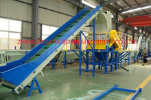 PET flakes recycling production plant