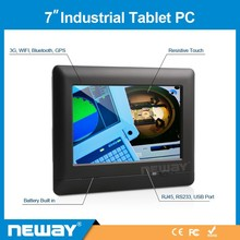 7''Industrial resistive touch winCE linux Van bus RS232 tablet