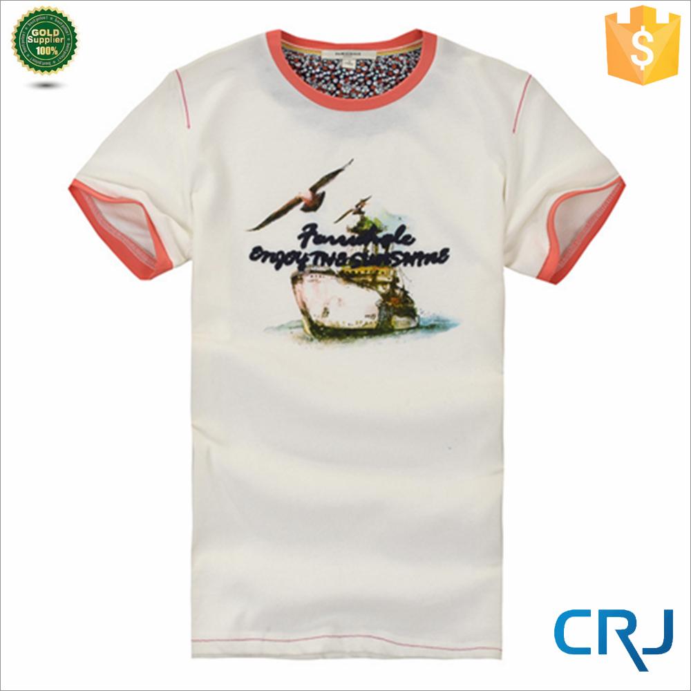 Latest style men 39 s plain t shirt for printing buy plain for Plain t shirts to print on