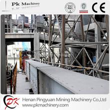 Stainless steel horizontal chain conveyor