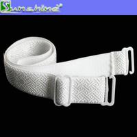 Complete adjustable bra shoulder strap in white