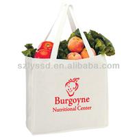 Promotional Colorful reusable 12oz cotton tote bag