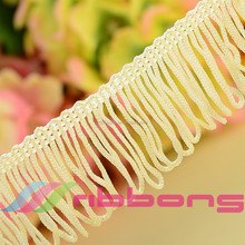 2015 MJRIBBONS fashion curtain fringe for garments and packing and curtain