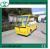 electric sightseeing vehicle for sale with CE
