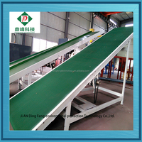 2015 automatic old tyre shredding recycling plant to make rubber powder with low cost