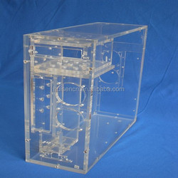 Acrylic Computer Mini Itx Case HS-TC-001