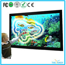 55 65 70 84Inch IR Interactive touch screen LED displays all in one smart tv