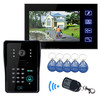 Excellent Design apartment touch button internet video door phone intercom system