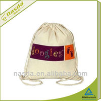 school drawstring pp fabric non woven shoulder bags
