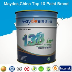 anti-stain exterior flat latex paint