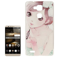 Factory price Slim Hard Protective smart cover case for Huawei ascend mate 7