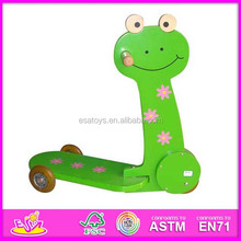 2015 New wood push scooter,popular child push scooter and hot sale wooden push scooter WJ276871