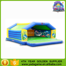 Hot sale ocean style inflatable bouncy and jumping house