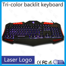 wired gaming changeable light manufacturing process of keyboard