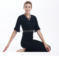 2015 newest style breathable yoga clothing for women
