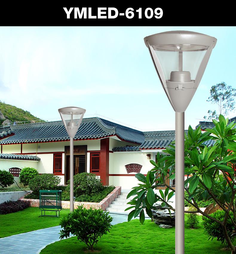 Factory price CE certificate die cast aluminum LED square garden light