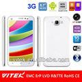 "Teléfono Inteligente de 5.7"" 720P HD Android 4.2 Cuatro Núcleos Doble SIM 8 Megapixeles AF Cámara 3G"