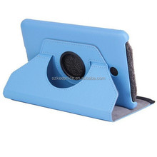 360 Degree Rotation Smart Stand PU+PC Leather Tablet Case Cover for Dell Venue 7 Inch