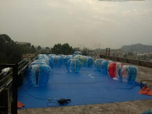Super quality branded custom inflatable body zorb ball