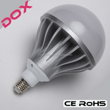 High power 24W,36W,48W,60W LED die-casting aluminum largest light bulb