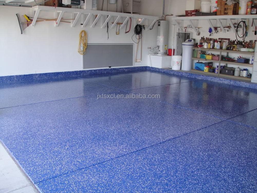 Decorative Garage Floor Coatings : Decorative chips garage floor epoxy coating buy