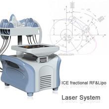 2015 lipo laser slimming radiofrecuencia tripolar machine