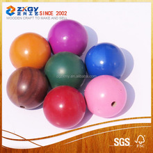 Colorful Small Wooden Balls