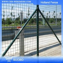 Hot Sale!!!Black PVC Coated Waving Fence Netting(factory)