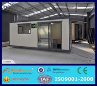 Light weight good quality prefab office container / container living units for sale